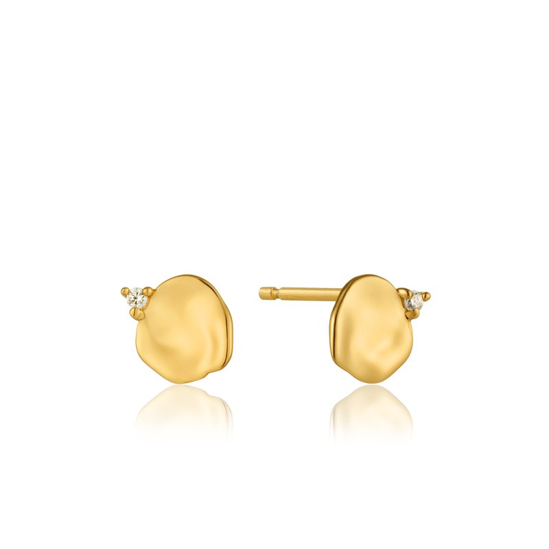Ania Haie Crush Disc Stud Earrings