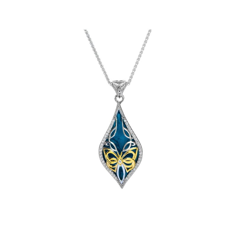 Keith Jack Cocooned Butterfly Pendant Small