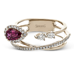 Simon G LR2266-R COLOR RING