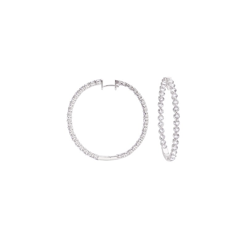 S. Kashi  & Sons Hoop Earring 40mm