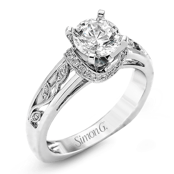 TR525 ENGAGEMENT RING