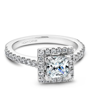 Noam Carver Fancy Engagement Ring B029-02A
