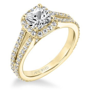 ArtCarved Evangeline Diamond Engagement Mounting