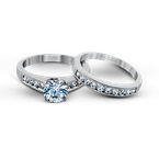 Zeghani ZR836 WEDDING SET
