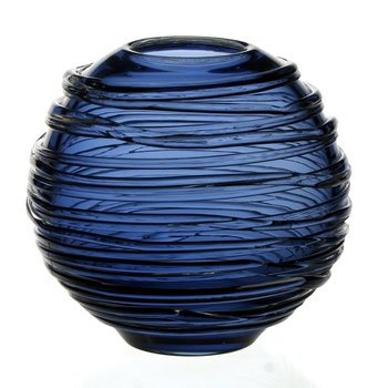 Sophie Vase Steel Blue 6""
