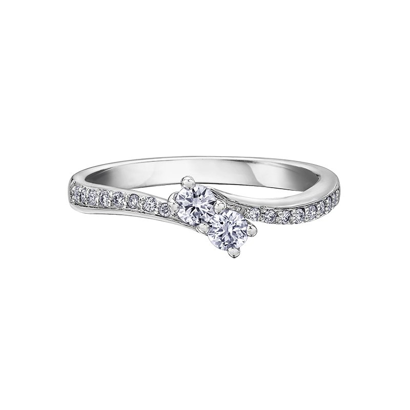 Timeless Beauty Together Forever™ Diamond Ladies Engagement Ring