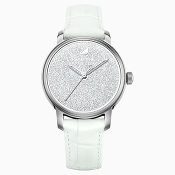 Crystalline Hours Watch, White