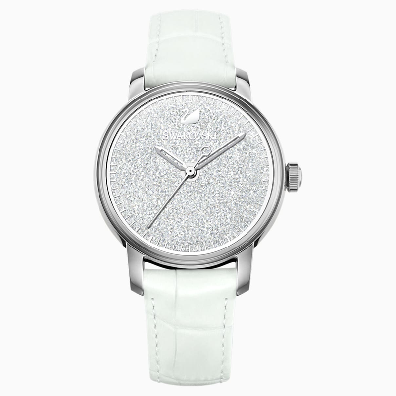 Swarovski Crystalline Hours Watch, White