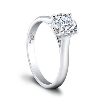 Chloe Round Engagement Ring