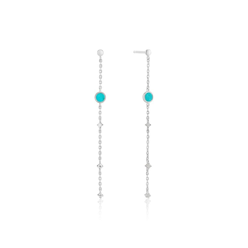 Ania Haie Turquoise Drop Earrings