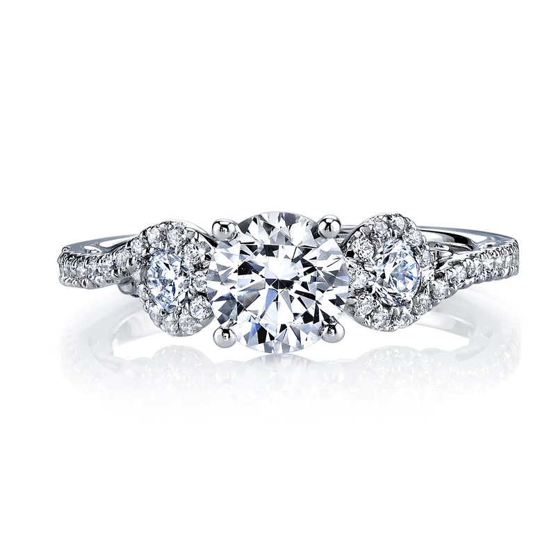 MARS Jewelry Diamond Engagement Ring, 0.63 ct tw