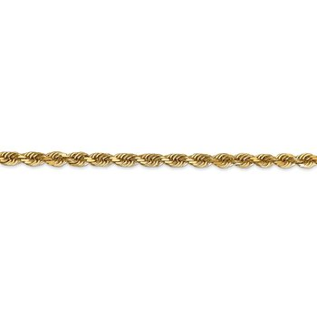 14k 4mm D/C Quadruple Rope Chain