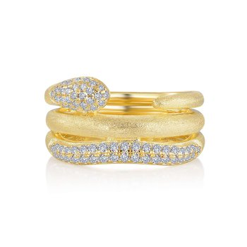 Eternal Love Snake Ring