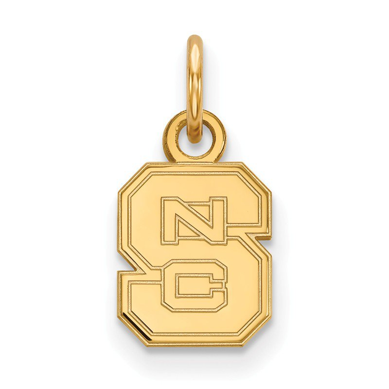 NCAA Gold North Carolina State University NCAA Pendant