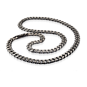 Italgem Steel Diamond Cut Cuban Link Chain
