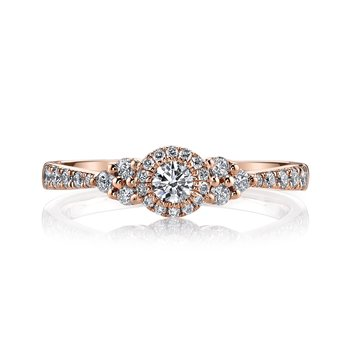 MARS 26107 Diamond Engagement Ring, 0.45 Ctw.