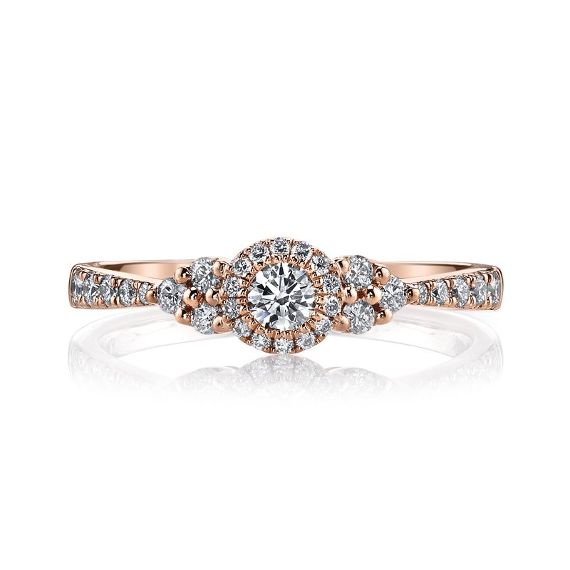 MARS Jewelry MARS 26107 Diamond Engagement Ring, 0.45 Ctw.