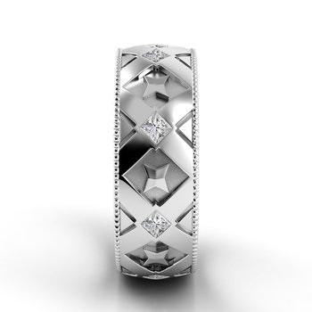 Classico Flat Diamond Band