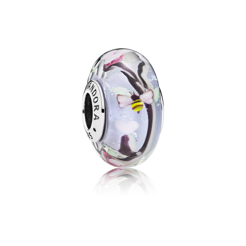PANDORA Enchanted Garden Murano Glass Charm