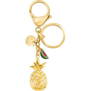 Lime Bag Charm, Multi-colored, Gold plating