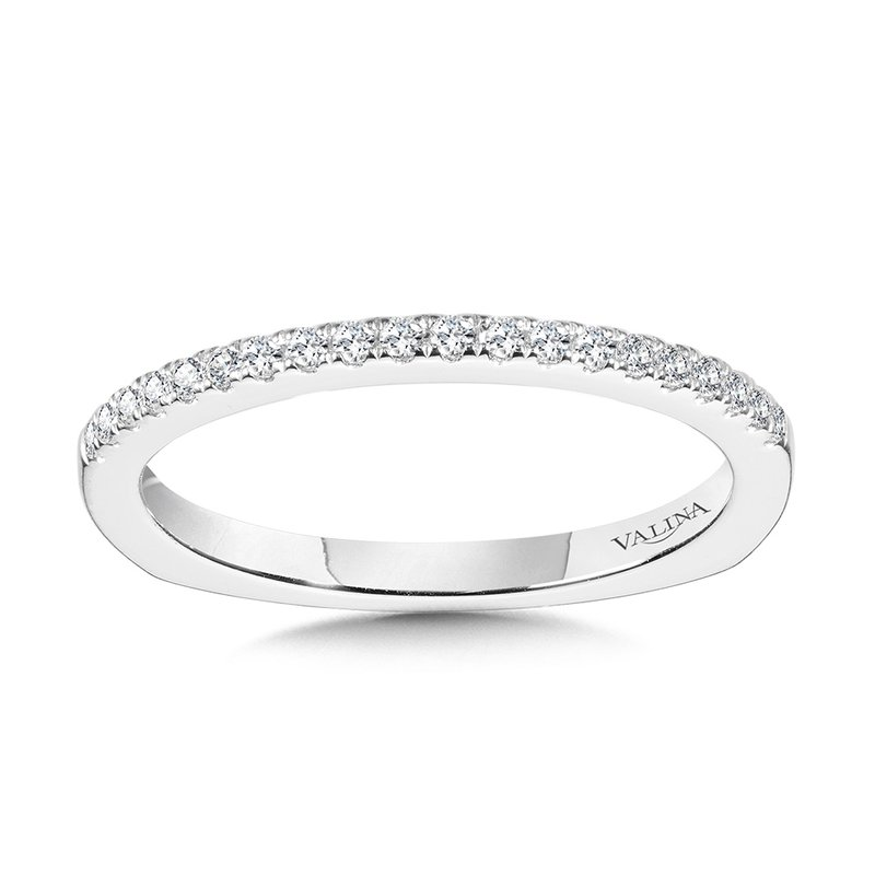 Valina Straight Diamond Wedding Band