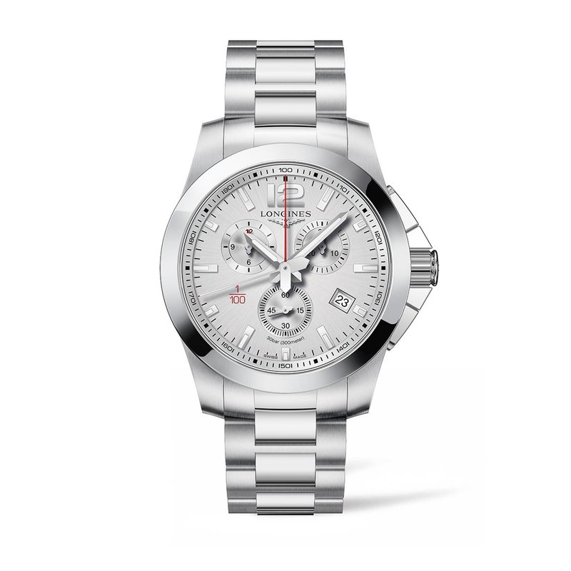 Longines Longines Conquest Chronograph Silver Dial