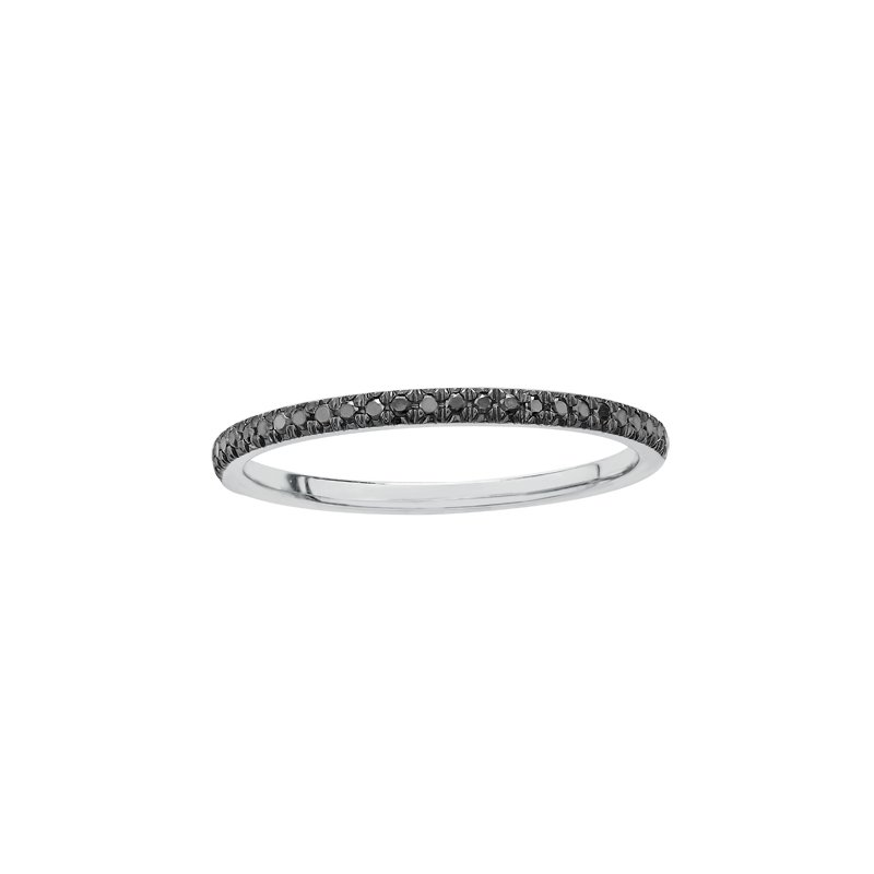 Diamond Days Enhanced Black Diamond Ladies Ring