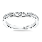 Valina Diamond and 14K White Gold Wedding Band (0.16 ct. tw.)