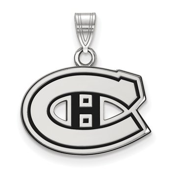 Sterling Silver Montreal Canadiens NHL Pendant