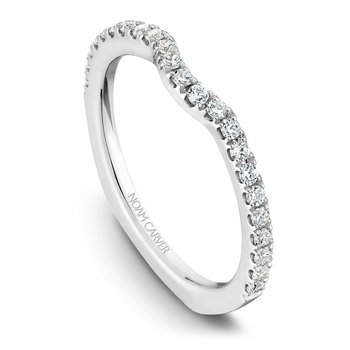 Noam Carver Wedding Band B009-01B