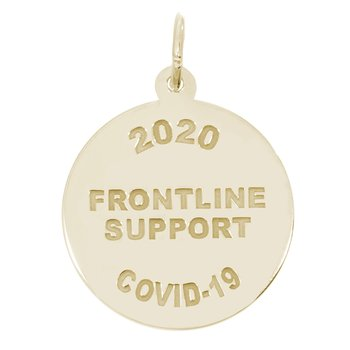 Covid-19 Frontline Support Charm