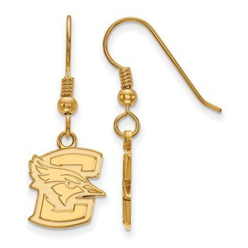 Gold-Plated Sterling Silver Creighton University NCAA Earrings