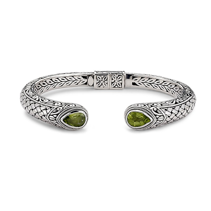 Samuel B Basketweave Bangle