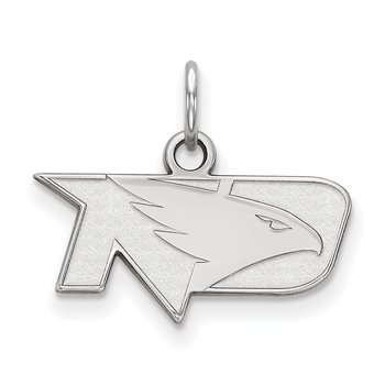 Sterling Silver University of North Dakota NCAA Pendant