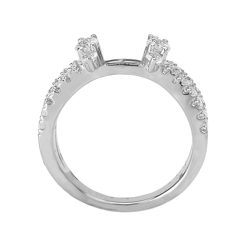 Romance No Peg Head Diamond Ring