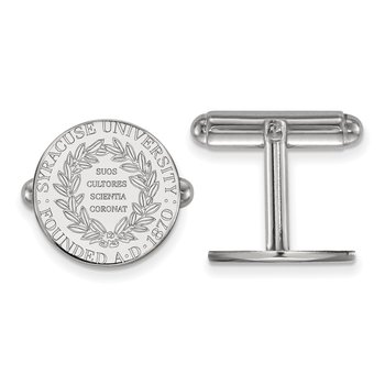 Sterling Silver Syracuse University NCAA Cuff Links