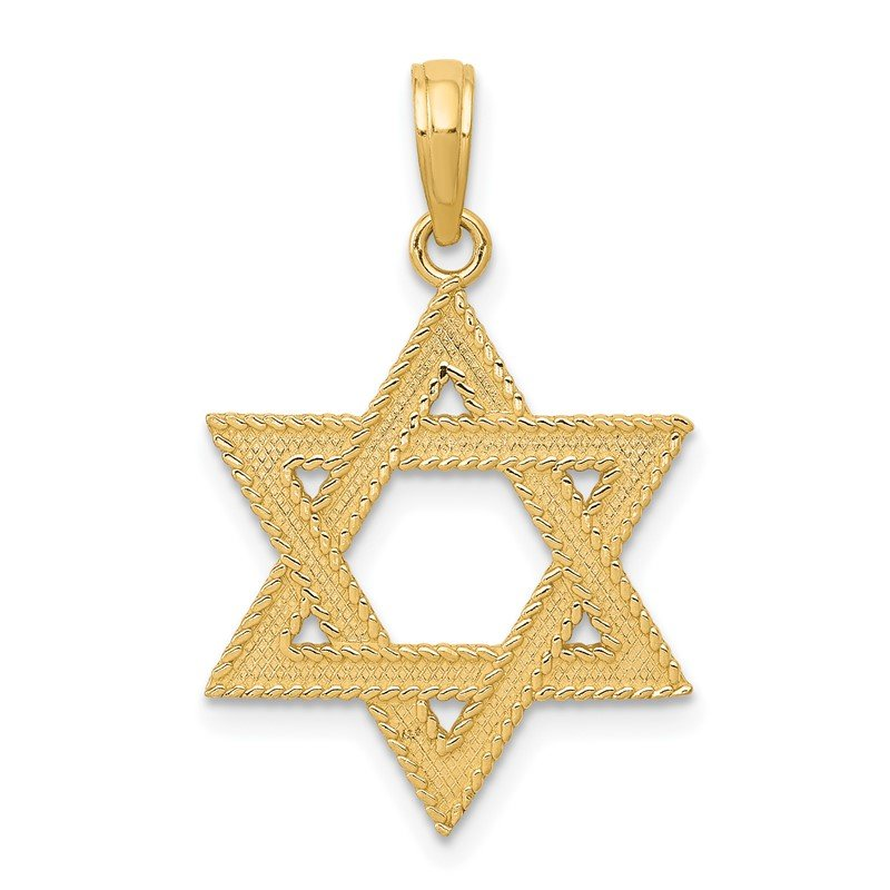 Fine Jewelry by JBD 14k Star of David Pendant
