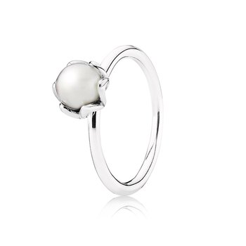 Cultured Elegance, White Pearl