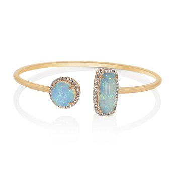 Moi & Toi Flex Opal Bangle