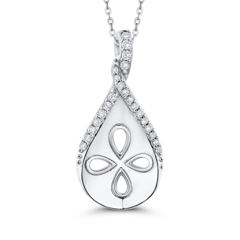 0.13 Ct Diamond Fashion Pendant with Chain