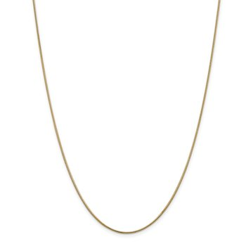 Leslie's 14K 1 mm Snake Chain