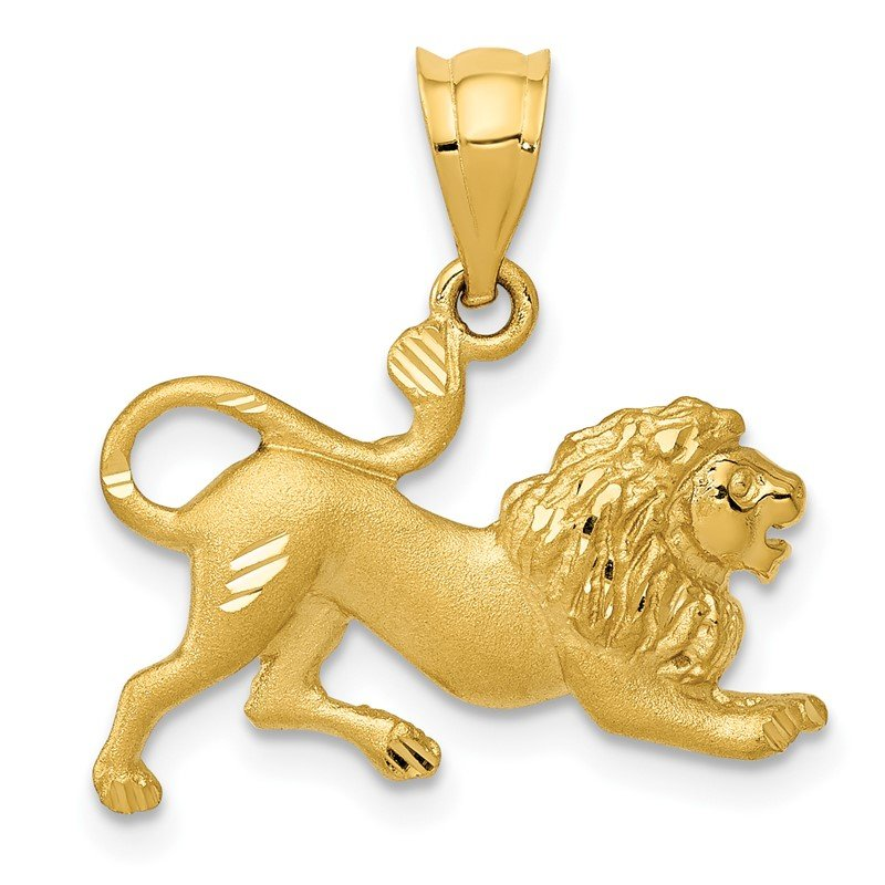 Quality Gold 14k Lion Charm