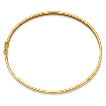 14K Flexible Hinged Bangle Bracelet