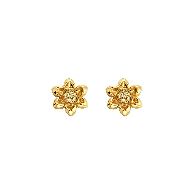S. Kashi  & Sons Pave Diamond Earrings