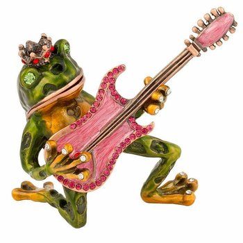 Freddy Frog with Guitar