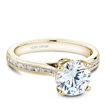 Noam Carver Vintage Engagement Ring B145-02YA