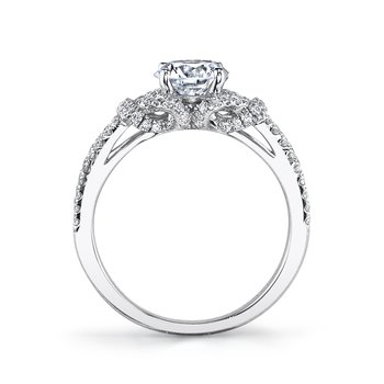 MARS 26172 Diamond Engagement Ring 0.39 Ctw.