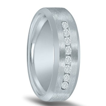 Men's 1/2 Carat Diamond Wedding Band ND16648 by Novell