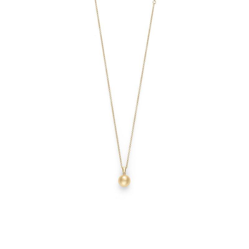 04ad99bce87e0 Haltom's Fine Jewelers: Mikimoto Golden South Sea Cultured Pearl Pendant