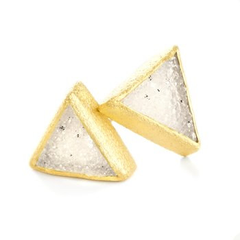 Trio Gold Earrings